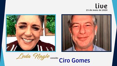 CIRO GOMES : O ATUAL MOMENTO POLÍTICO SEGUNDO CIRO