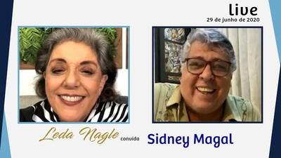 SIDNEY MAGAL : O CANTOR DE SANDRA ROSA MADALENA É AVO DE MADALENA