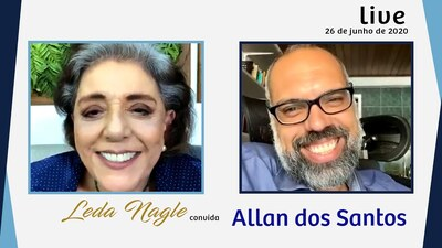 ALLAN DOS SANTOS : COM A PALAVRA O JORNALISMO CONSERVADOR| LEDA NAGLE