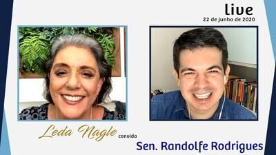 SENADOR RANDOLFE RODRIGUES : A PALAVRA DA OPOSICAO AO GOVERNO| LEDA NAGLE