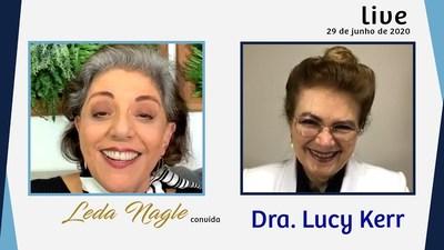 DRA. LUCY KERR : SEGUNDO ELA É POSSÍVEL PREVENIR A DOENCA DO MOMENTO.