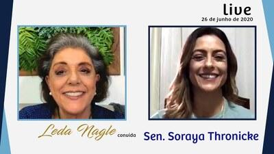 SORAYA THRONICKE : A SENADORA DO MATO GROSSO DO SUL| LEDA NAGLE