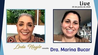 DRA. MARINA BUCAR, DE FLORIANO, NO PIAUÍ , PARA O MUNDO| LEDA NAGLE