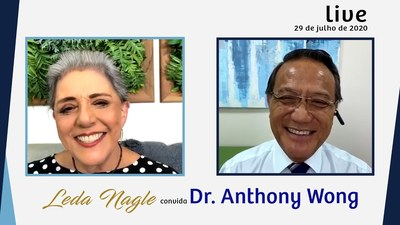 DR. ANTHONY WONG SÓ ACREDITA EM USO DE VACINAS EM MAIO DE 2021| LEDA NAGLE