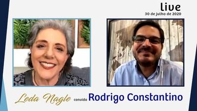 RODRIGO CONSTANTINO : LIBERDADE DE OPINIÃO. LIBERDADE DE EXPRESSÃO| LEDA NAGLE