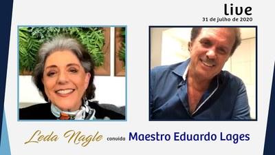 COM VOCES, O MAESTRO EDUARDO LAGES, O MAESTRO DO REI ROBERTO CARLOS