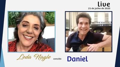 DANIEL ELEGANTE NA VIDA E NO CANTO| LEDA NAGLE