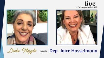 A NOVA JOICE HASSELMANN É MAGRA E DIZ QUE VAI SER PREFEITA DE SÃO PAULO