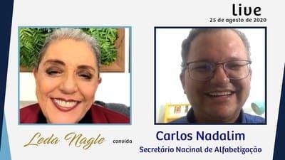 CARLOS NADALIM: A ALFABETIZAÇÃO : PROJETOS E AÇÕES HOJE NO BRASIL