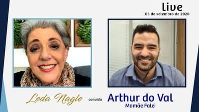 ELE QUER SER PREFEITO DE SÃO PAULO :ARTHUR DO VAL, MAMÃE FALEI, | LEDA NAGLE