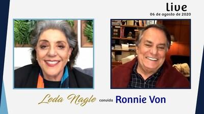 RONNIE VON: CANTOR, APRESENTADOR E ATÉ NOME DE ORQUIDEA | LEDA NAGLE
