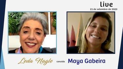 COM A PALAVRA MAYA GABEIRA: RECORDISTA DE ONDA GIGANTE OUTRA VEZ | LEDA NAGLE