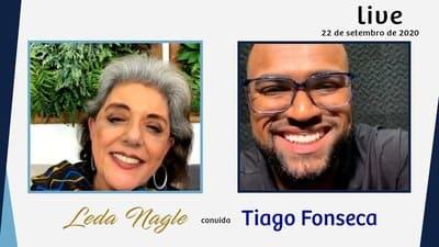 TIAGO FONSECA : DE MENINO POBRE A FORTE EMPREENDEDOR SEM VITIMISMO | LEDA NAGLE