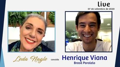 O BRASIL DE HOJE É O ASSUNTO DO BRASIL PARALELO| LEDA NAGLE