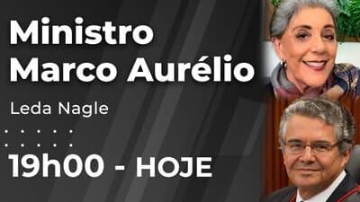 Ministro Marco Aurélio - Leda Nagle