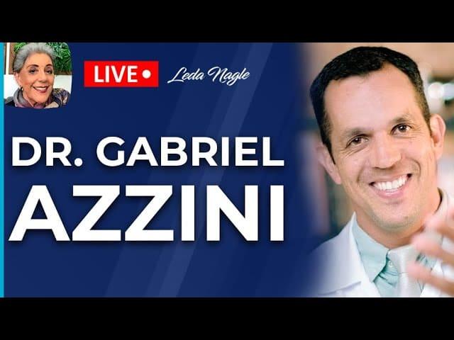 DR. GABRIEL AZZINI - Medicina regenerativa - Leda Nagle