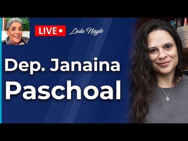 JANAINA PASCHOAL - Entrevista DEPUTADA DE SÃO PAULO - Leda Nagle #entrevistajanainapaschoal