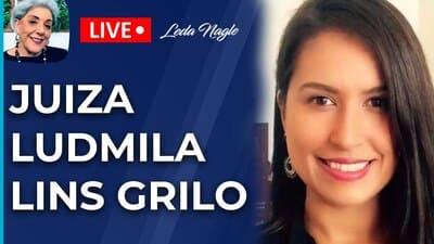 JUIZA LUDMILA LINS GRILO : AS PESSOAS PRECISAM APRENDER A DIFERENCIAR FATOS DE OPINIÃO.