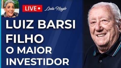 BRASILEIRO FOI INDUZIDO A SER AGIOTA. GASTAR MENOS QUE GANHA EDUCA FINANCEIRAMENTE. LUIZ BARSI