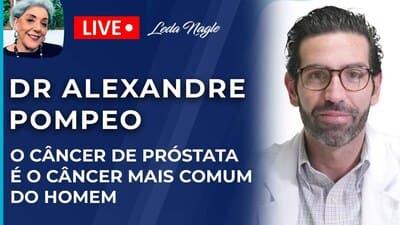 DR POMPEO: A COR DO XIXI DEPENDE DA HIDRATAÇÃO. CANCER DE PROSTATA É CANCER MAIS COMUM DO HOMEM.